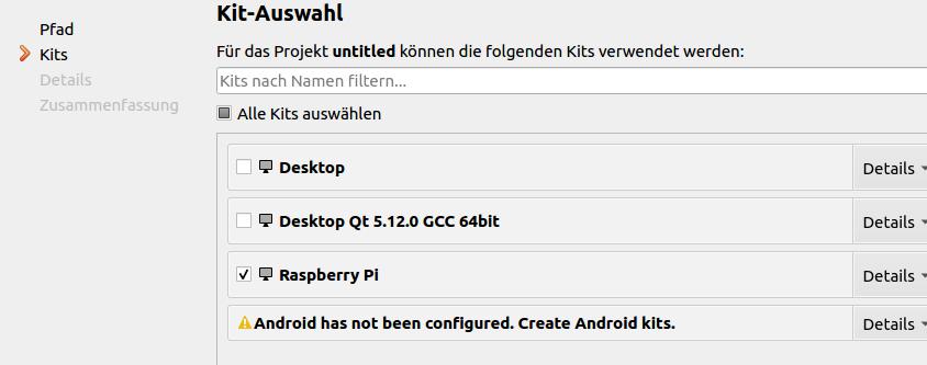 Qt für den Raspberry Pi – Kampis Elektroecke